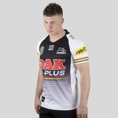 Classic Sportswear Penrith Panthers 2018 NRL Alternativa M/C - Camiseta de Rugby