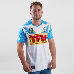 Classic Sportswear Gold Coast Titans 2018 NRL Alternativa M/C - Camiseta de Rugby