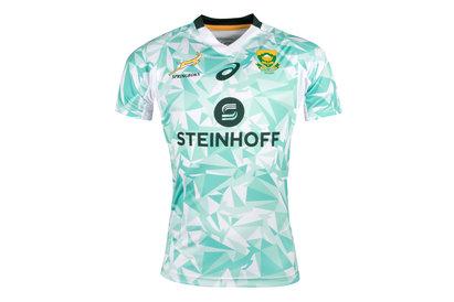 Asics Sudáfrica BlitzBokke 7s 2017/18 Alternativa Seguidores M/C - Camiseta de Rugby