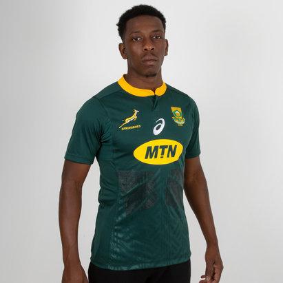 Asics Sudáfrica Springboks 2018/19 Home M/C Test - Camiseta de Rugby