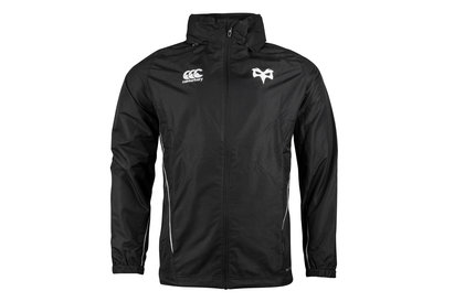 Canterbury Ospreys 2017/18 Players Full Zip Rugby - Chaqueta Impermeable