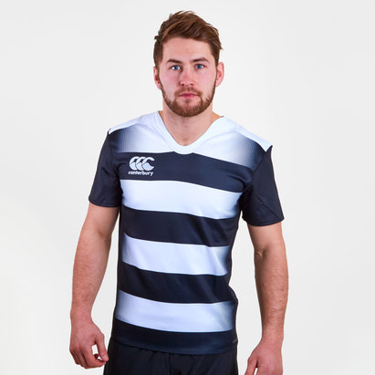 Canterbury Challenge Hooped M/C - Camiseta de Rugby