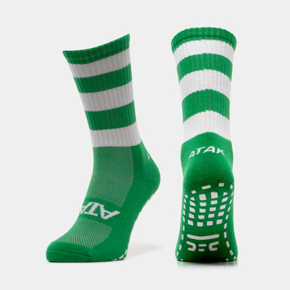 Atak Sports Shox Non Slip Mid Leg - Calcetines Adherentes