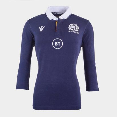 Macron Scotland Classic Home Rugby Shirt 2020 2021 Ladies