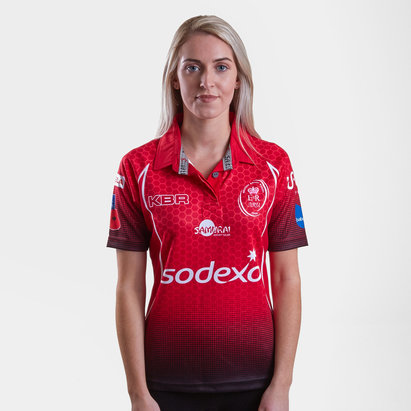 Samurai British Army Union 2018 Mujer Home M/C - Camiseta de Rugby