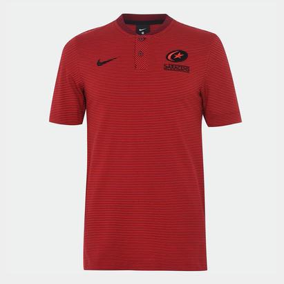 Nike Saracens Polo Shirt Mens