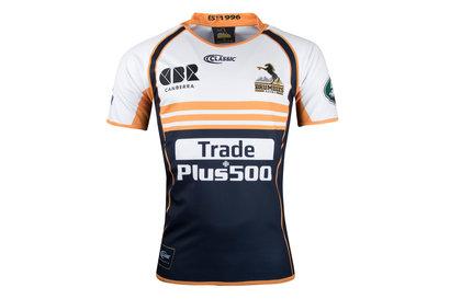 Classic Sportswear Brumbies 2018 NRL Alternativa M/C - Camiseta de Rugby