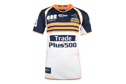 Classic Sportswear Brumbies 2018 NRL Niños Home M/C - Camiseta de Rugby