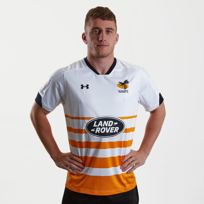 Under Armour Wasps 2018/19 Alternativa M/C Réplica - Camiseta de Rugby
