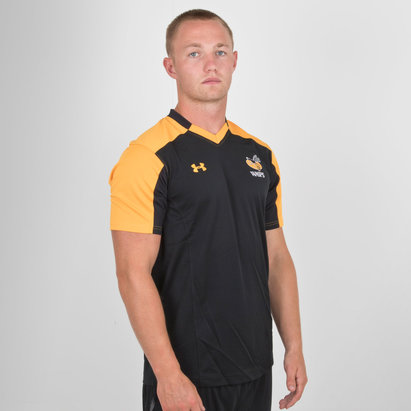 Under Armour Wasps 2018/19 Players M/C Rugby - Camiseta de Entrenamiento