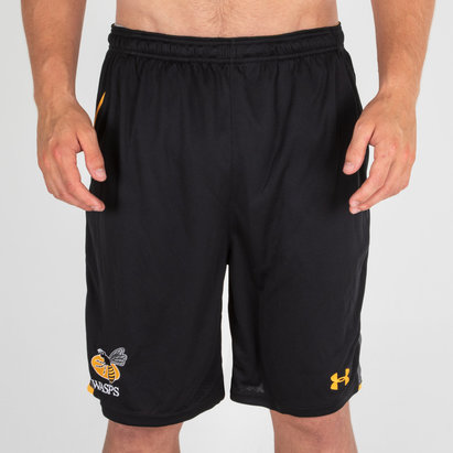 Under Armour Wasps 2018/19 Players Rugby - Shorts de Entrenamiento