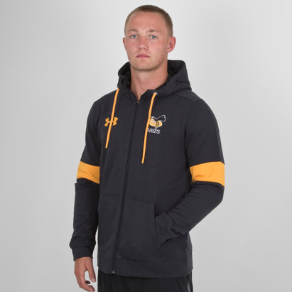 Under Armour Wasps 2018/19 Players Rival Full Zip - Chaqueta de Rugby