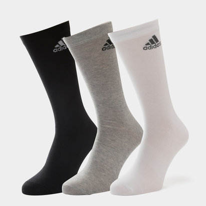 3 Pk adidas Performance Crew Thin - Calcetines