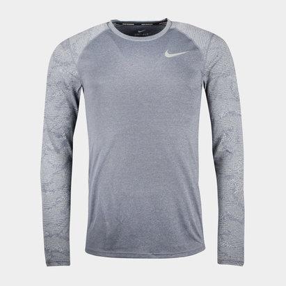 Nike Dry Miler M/L - Camiseta de Correr