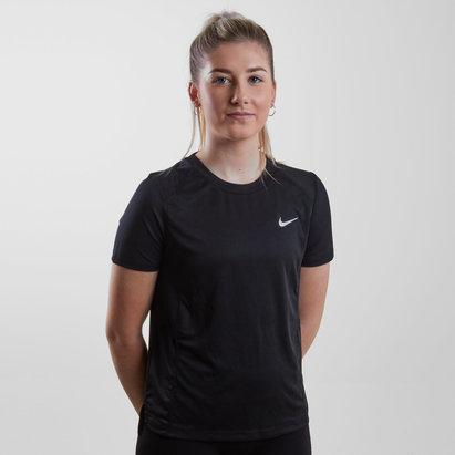 Nike Miler - Camiseta de Correr Mujer
