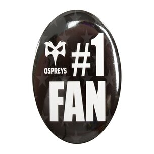 Ospreys No 1 Fan Rugby - Pin Grande