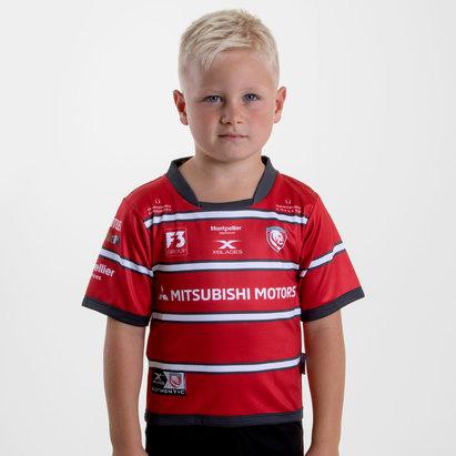 X Blades Gloucester 2018/19 Home Bebés M/C Réplica - Camiseta de Rugby