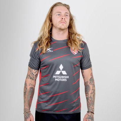 X Blades Gloucester 2018/19 Players Rugby - Camiseta de Entrenamiento