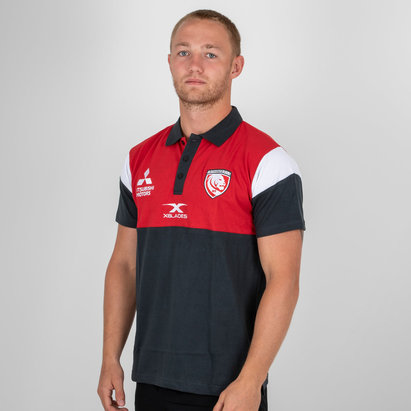 X Blades Gloucester 2018/19 Players Rugby - Polo