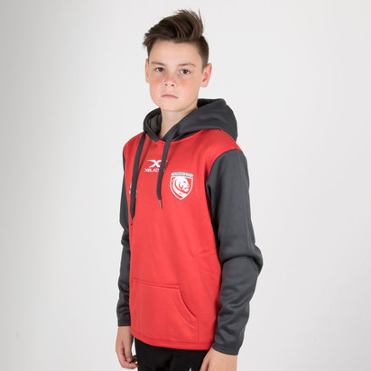 X Blades Gloucester 2018/19 Niños Overhead Rugby - Sudadera con Capucha