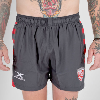 X Blades Gloucester 2018/19 Players Rugby - Shorts de Entrenamiento