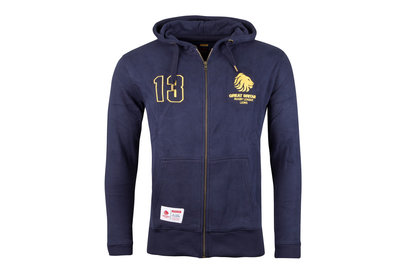 Great Britain Rugby League Gran Bretaña Rugby League Heritage Full Zip - Sudadera con Capucha