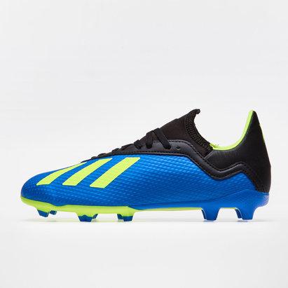 adidas X 18.3 FG Niños - Botas de Fútbol