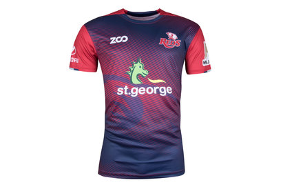 Zoo Sport Queensland Reds 2018 Players Super Rugby - Camiseta Térmica