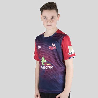 Zoo Sport Queensland Reds 2018 Niños Super Rugby - Camiseta Térmica