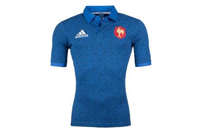 adidas Francia 2018 Seguidores M/C - Camiseta de Rugby