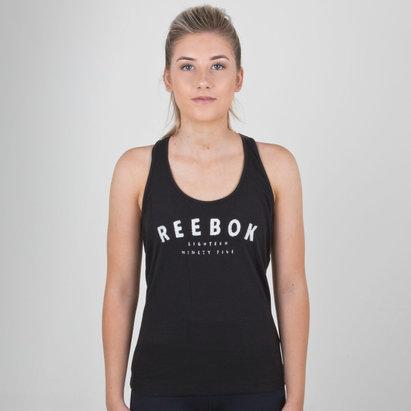 Reebok Top de Entrenamiento Gráfico Mujer