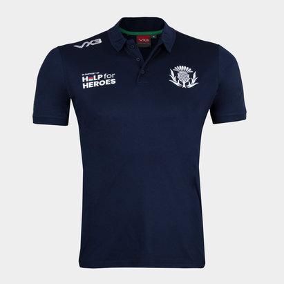 VX-3 Help 4 Heroes Scotland Polo Shirt Mens