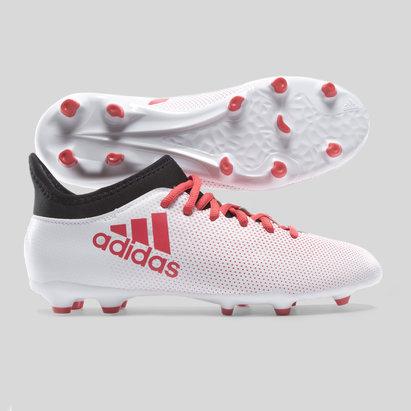 adidas X 17.3 FG Niños - Botas de Fútbol