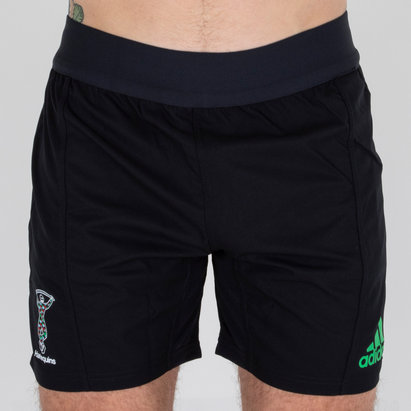 adidas Harlequins 2018 Home Players - Shorts de Rugby