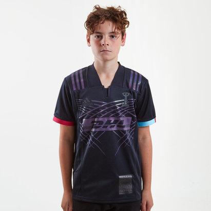 adidas Harlequins 2018/19 3a Niños M/C Réplica - Camiseta de Rugby