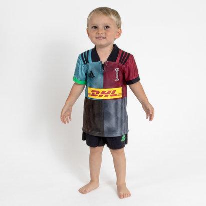 adidas Harlequins 2018/19 Niños Home Réplica - Equipación de Rugby
