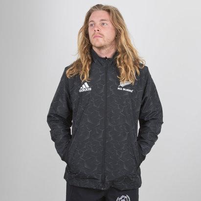 adidas Nueva Zelanda All Blacks 2018/19 Players Presentación - Chaqueta