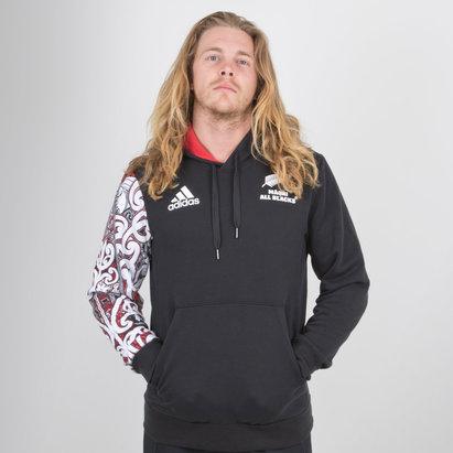 adidas Nueva Zelanda Maori All Blacks 2018/19 Rugby - Sudadera con Capucha