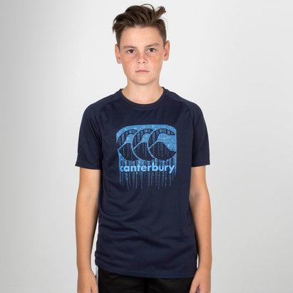 Canterbury Vapodri Poly Logo Niños - Camiseta