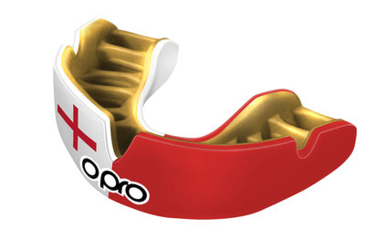 Opro Power-Fit Inglaterra - Protector Bucal