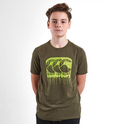Canterbury Vapodri Poly Logo Jóvenes - Camiseta