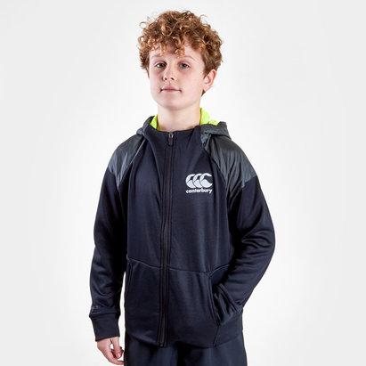 Canterbury Vaposhield Niños Full Zip Rugby - Sudadera con Capucha