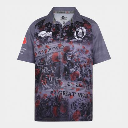 Samurai Army Rugby Union WWI Conmemorativo - Camiseta de Rugby