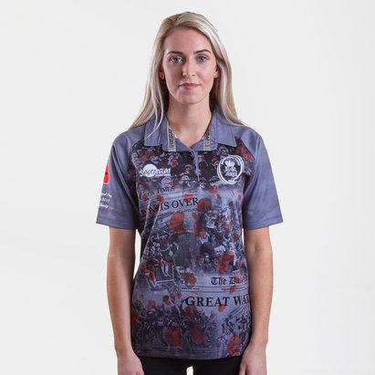 Samurai Army Rugby Union Mujer WWI Conmemorativo - Camiseta de Rugby