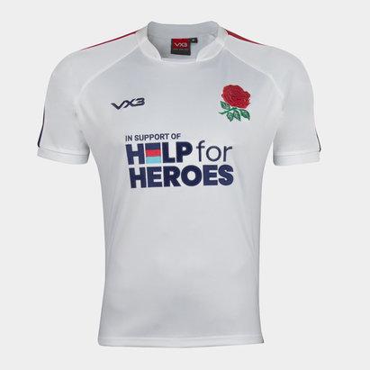 VX-3 Help 4 Heroes England Short Sleeve Jersey