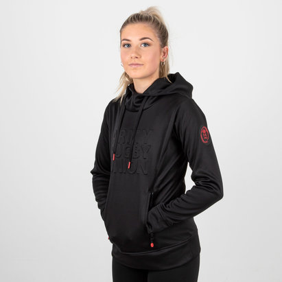 Samurai Army Rugby Union Mujer Embossed Impact Rugby - Sudadera con Capucha