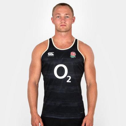 Canterbury Inglaterra 2018/19 Players Rugby - Camiseta de Tirantes Entrenamiento