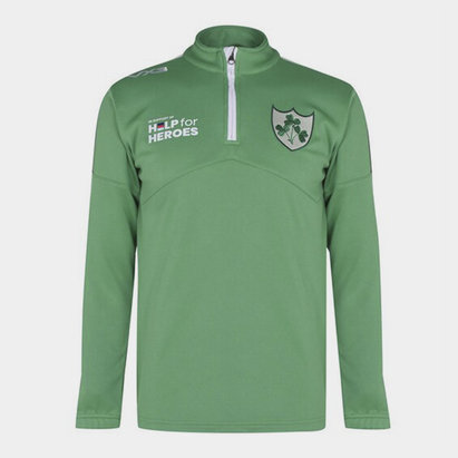 VX-3 Help 4 Heroes Ireland Zip Top Mens