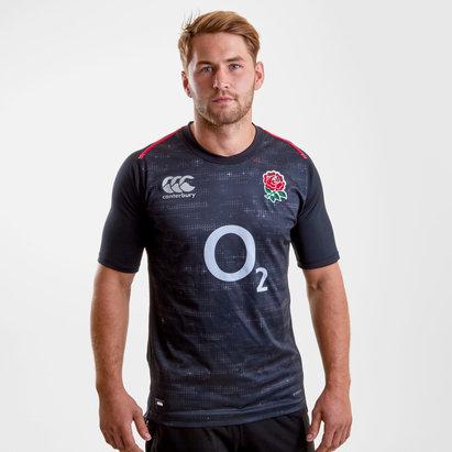 Canterbury Inglaterra 2018/19 Alternativa Pro M/C - Camiseta de Rugby
