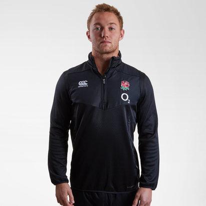 Canterbury Inglaterra 2018/19 Players 1/4 Zip Rugby - Top de Entrenamiento